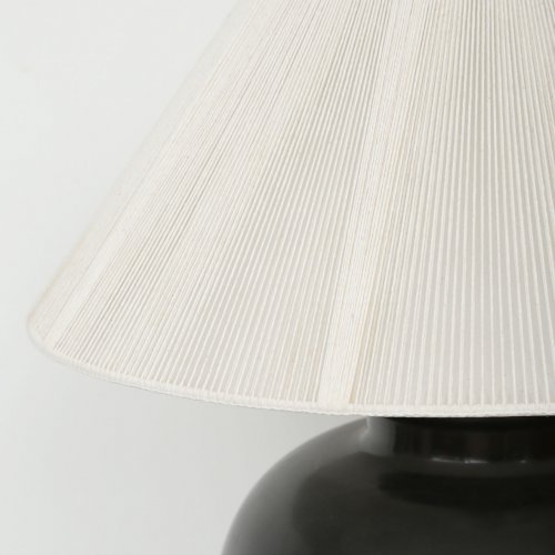 karl springer lamp shade detail left